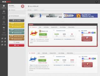 rcbinfo.com screenshot