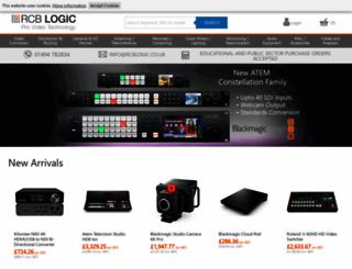 rcblogic.co.uk screenshot