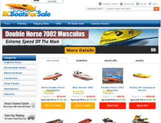 rcboatsforsale.com.au screenshot