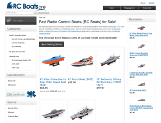 rcboatsonly.com screenshot