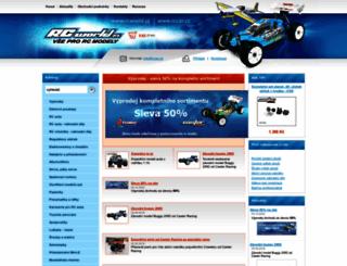 rccar.cz screenshot
