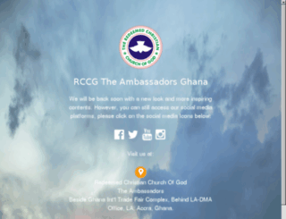 rccgambassadorsghana.org screenshot