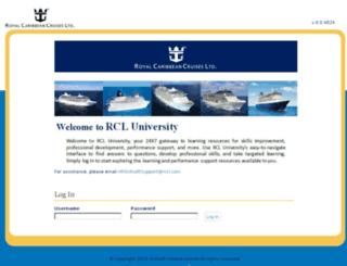 rccl.skillport.com screenshot