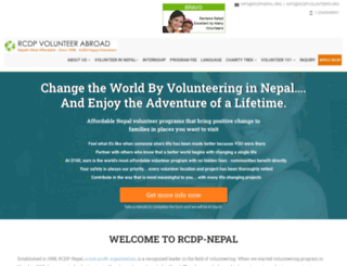 rcdpnepal.org screenshot