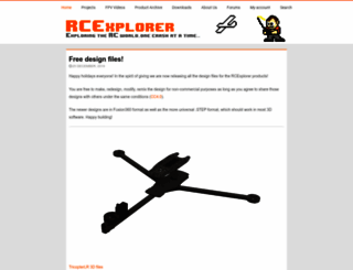 rcexplorer.se screenshot