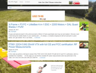 rcfpvflight.com screenshot