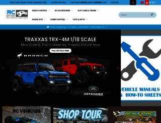 rcgarage.com screenshot