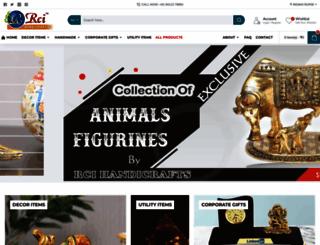 rcihandicrafts.com screenshot