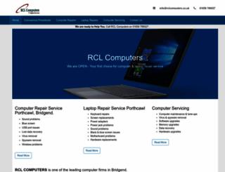 rclcomputers.co.uk screenshot