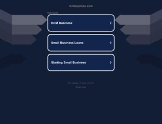 rcmbusines.com screenshot