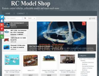 rcmodelshop.co.uk screenshot