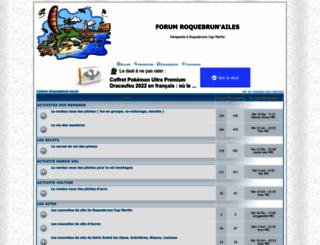 rcmparagliding.forumperso.com screenshot