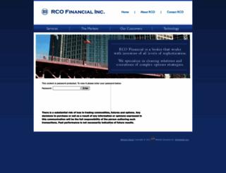 rcofinancial.com screenshot