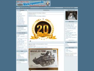 rcpanzer.de screenshot