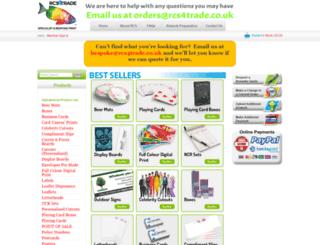 rcs.plc.uk screenshot