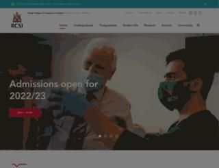 rcsi-mub.com screenshot