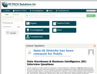 rctech.kayako.com screenshot
