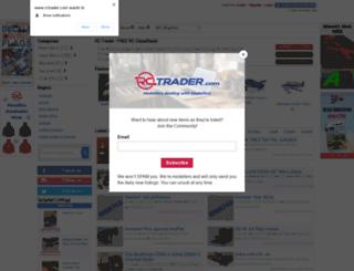rctrader.com screenshot