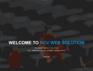 rcvwebsolution.in screenshot