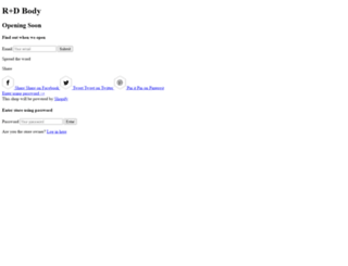 rdbody.com screenshot