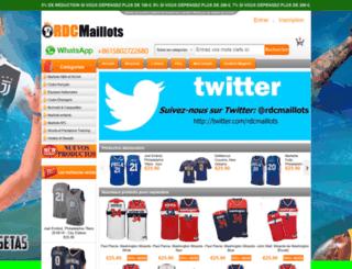 rdcmaillots.com screenshot