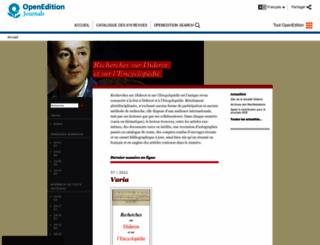 rde.revues.org screenshot