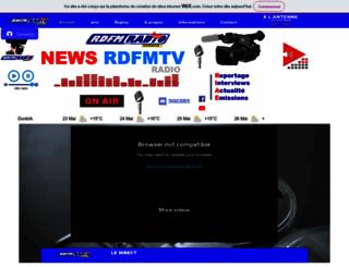 rdfm-radio.fr.nf screenshot