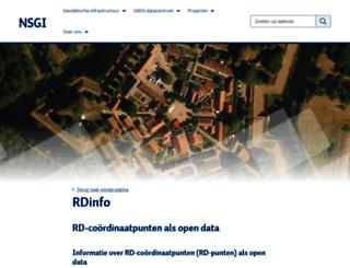 rdinfo.kadaster.nl screenshot