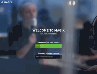 rdir.magix.net screenshot