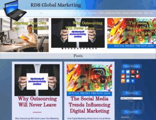 rdsglobalmarketing.net screenshot