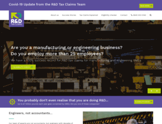 rdtaxclaims.co.uk screenshot