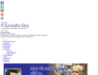 rdumindasilva.com screenshot