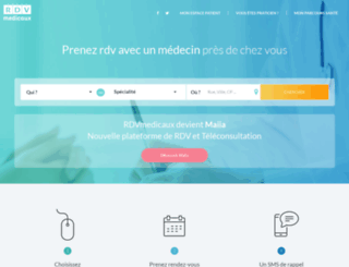 rdvmedicaux.com screenshot