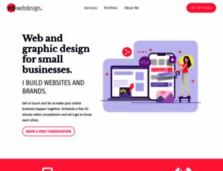 rdwebdesign.com.au screenshot
