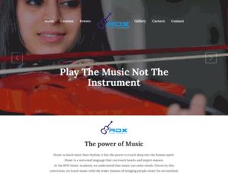 rdxmusic.co.in screenshot
