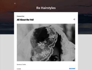 re-hairstyles.blogspot.ru screenshot