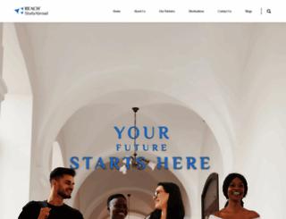 reach-studyabroad.com screenshot
