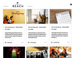 reach.newearth.com screenshot