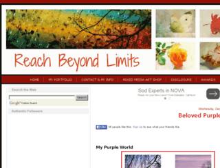reachbeyondlimits.blogspot.com screenshot