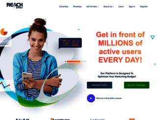 reacheffect.com screenshot