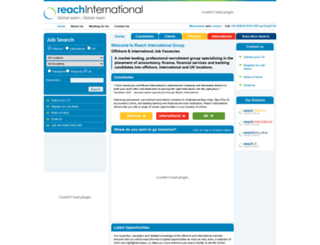reachinternational.com screenshot