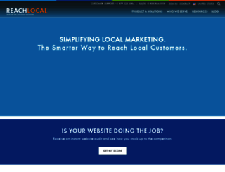 reachlocal.com screenshot