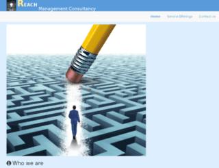 reachmgmtconsultancy.com screenshot