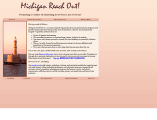 reachoutmichigan.org screenshot