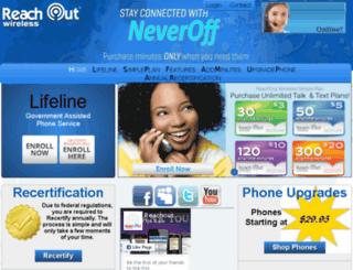 reachoutmobile.com screenshot