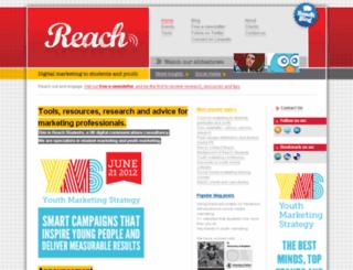 reachstudents.co.uk screenshot