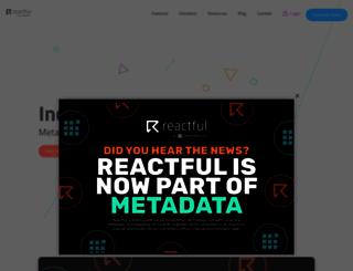 reactful.com screenshot