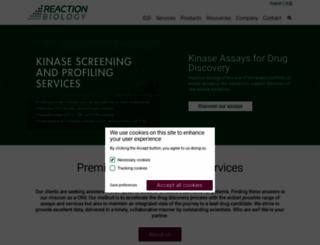 reactionbiology.com screenshot