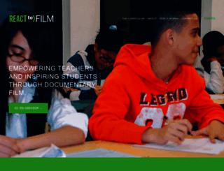 reacttofilm.com screenshot