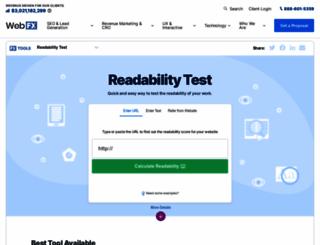 read-able.com screenshot